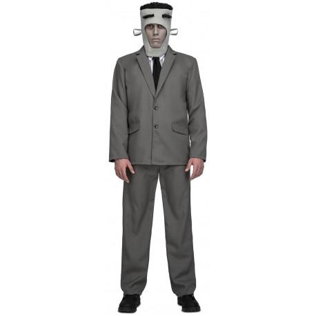 Disfraz de Frankenstein Gris para Adulto