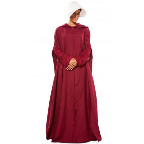 Disfraz de El Cuento de la Criada con Capa para Mujer
