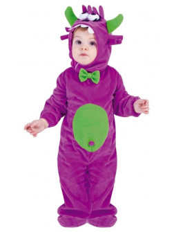 Disfraz de Monstruo Morado para Bebé