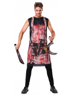 Disfraz de Carnicero Sangriento para Adulto
