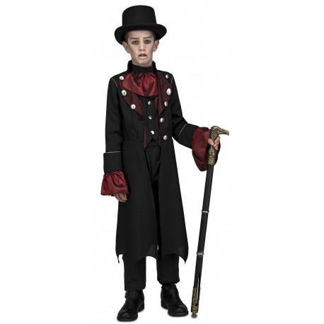 Disfraz de Vampiro Victoriano para Niño