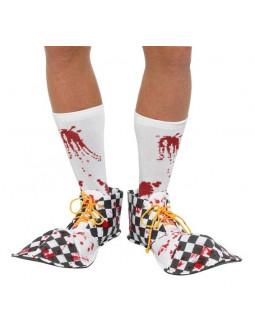 Zapatos de Payaso Asesino Sangrientos