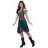 Disfraz de Pirata con Chaleco y Falda para Mujer