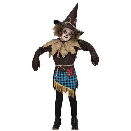 Disfraz de Espantapájaros Diabólico Infantil