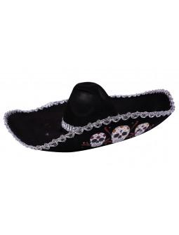 Sombrero Mexicano Día de los Muertos