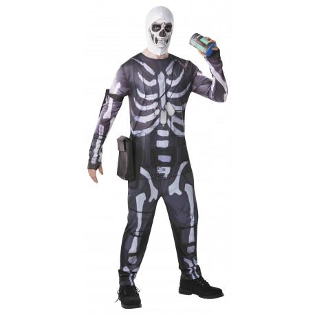 Disfraz de Fortnite Skull Trooper para Adulto