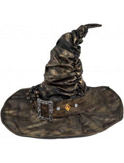 Sombrero de Bruja Decorado Premium