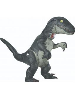 Disfraz de Dinosaurio Velociraptor Hinchable para Adulto