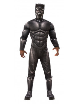 Disfraz de Black Panther Musculoso para Hombre