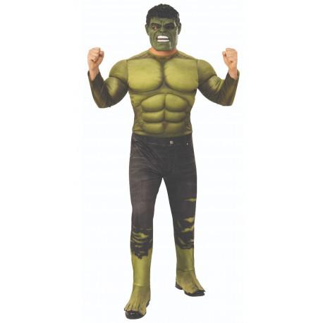 Disfraz de Hulk Musculoso Infinity War para Hombre