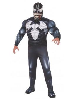 Disfraz de Venom Musculoso Premium para Adulto