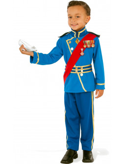 Disfraz de Príncipe Real Azul para Niño