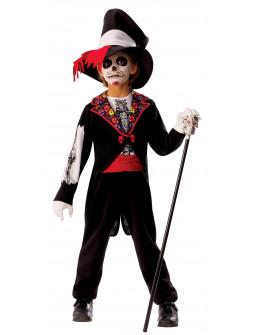 Disfraz de Catrin Día de los Muertos para Niño