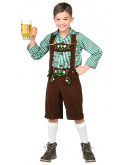 Disfraz de Bávaro Oktoberfest Infantil