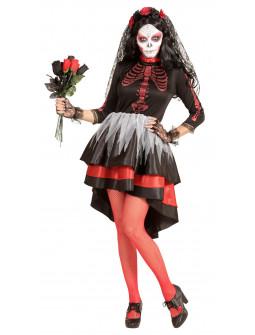 Disfraz de Catrina Día de los Muertos para Mujer