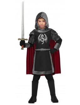 Disfraz de Caballero Medieval Oscuro Infantil