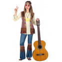 Disfraz de Hippie Años 60 para Niña