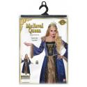 Disfraz de Reina Medieval Elegante para Mujer