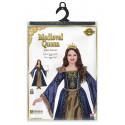 Disfraz de Reina Medieval Elegante para Niña