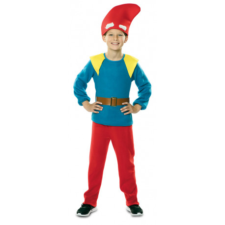 Disfraz de Enanito Rojo y Azul Infantil
