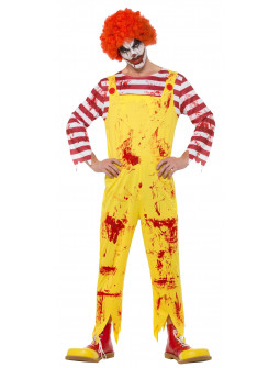 Disfraz de Payaso Asesino Ronald McDonald