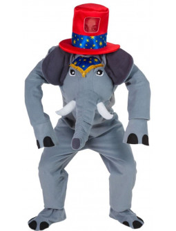 Disfraz de Elefante de Circo para Adulto