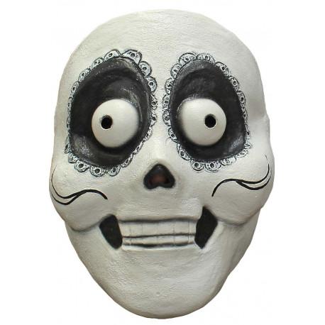 Máscara de Catrín Día de los Muertos de Látex