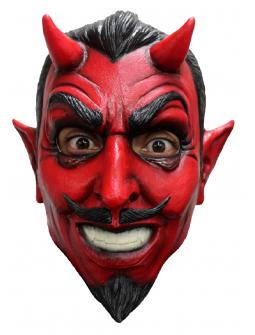 Máscara de Diablo Elegante de Látex