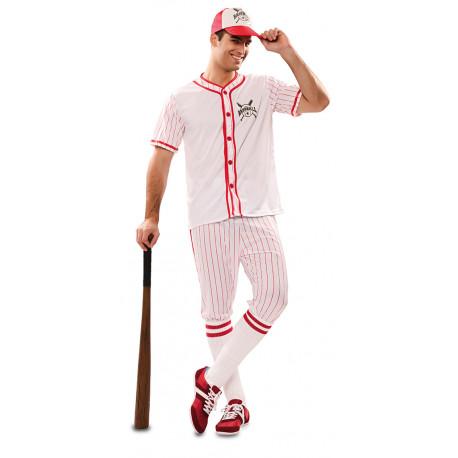 Disfraz de Jugador de Béisbol para Adulto