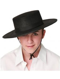 Sombrero de Cordobés Negro para Adulto