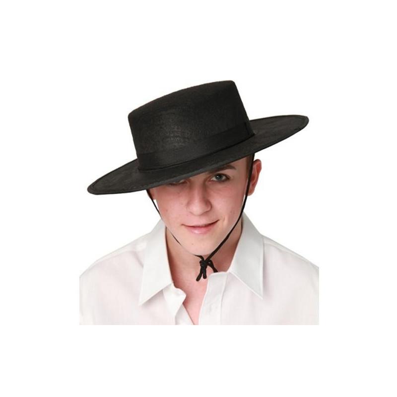 Sombrero de Cordobés Negro para Adulto  50935d5b1d0