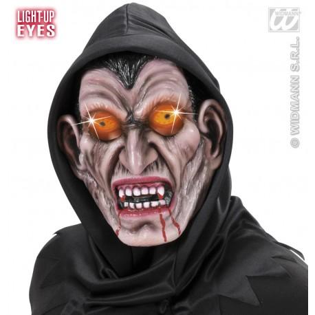 Mascara diabolica con luz