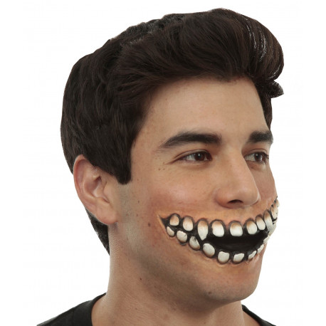 Prótesis de Sonrisa Terrorífica de Látex