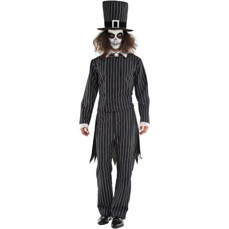 Disfraz de Mr Skellington para Hombre