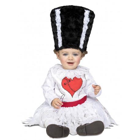 Disfraz de la Novia de Frankenstein para Bebé