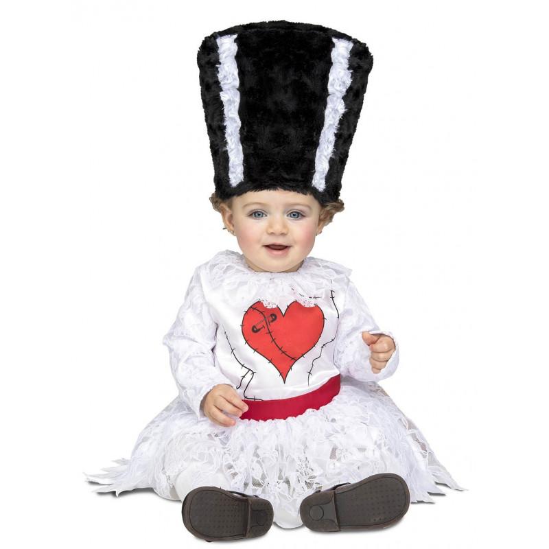 disfraz de la novia de frankenstein para bebé | comprar