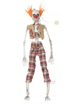 Esqueleto de Payaso con Luz para Decoración
