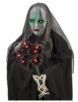Viuda Negra Fantasma con Luces y Sonido