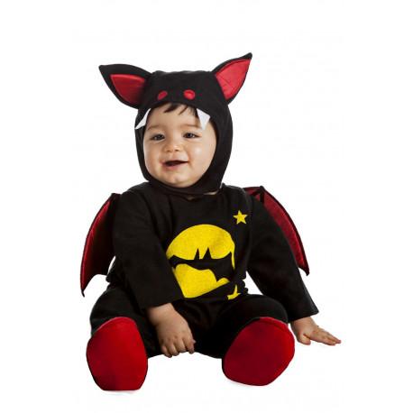 Disfraz de Murciélago Vampiro Negro para Bebé
