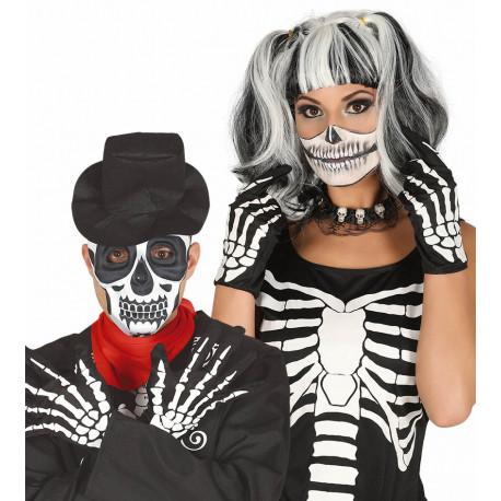 Guantes de Esqueleto para Adulto