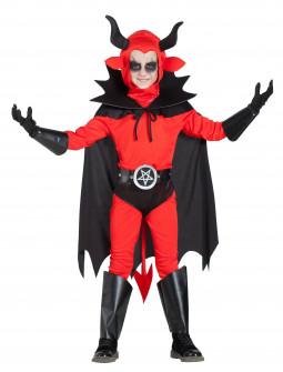 Disfraz de Rey Demonio con Capa Infantil