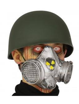 Máscara de Gas Nuclear de PVC