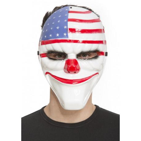 Máscara de la Purga Payaso Americano