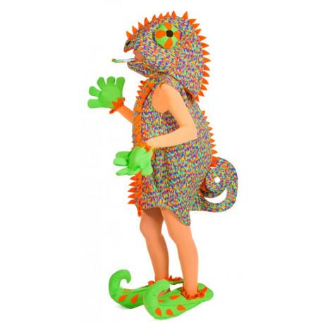 Disfraz de Camaleón Molón Multicolor para Mujer