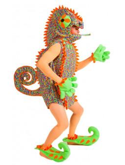 Disfraz de Camaleón Molón Multicolor para Hombre