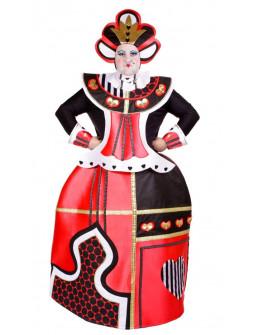 Disfraz de Reina de Corazones Premium para Hombre