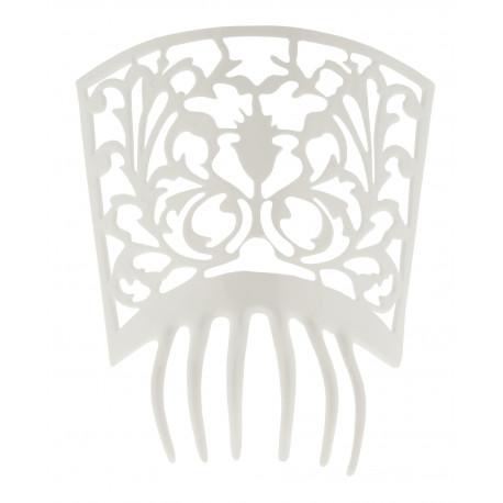 Peineta de Flamenca Blanca