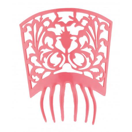 Peineta de Flamenca Rosa