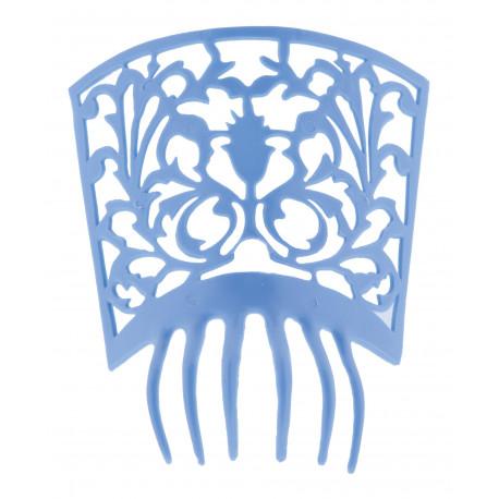 Peineta de Flamenca Azul