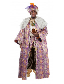 Disfraz de Rey Mago Baltasar Elegante para Adulto